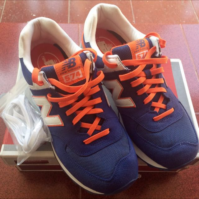 New Balance Core Plus 574 Blue/orange/white