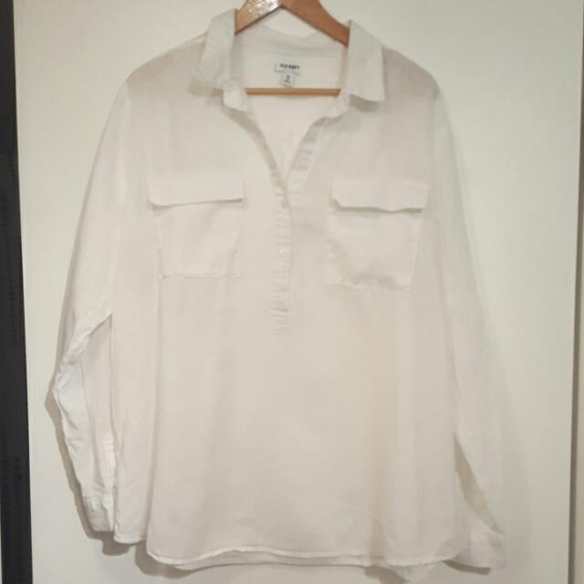 Old Navy Linen Top