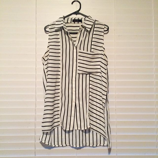 Open Ended Side Stripe Shirt