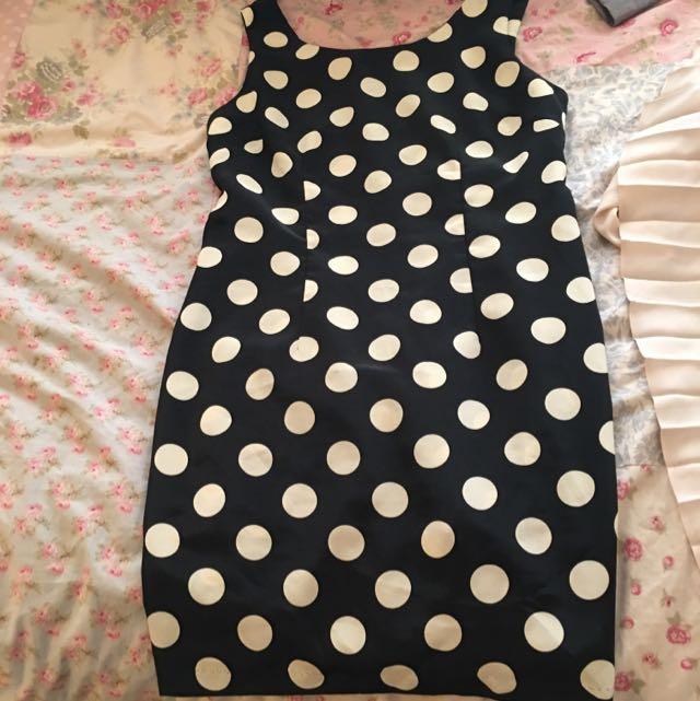 Polka Dot Dress Size 10