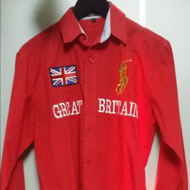Limited Edition Polo Ralph Lauren Long Sleeves Shirt, Men s Fashion ... bf3b3b26d5