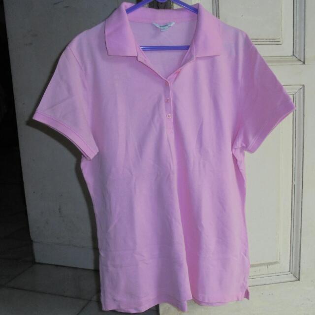Polo Shirt Bossini Pink