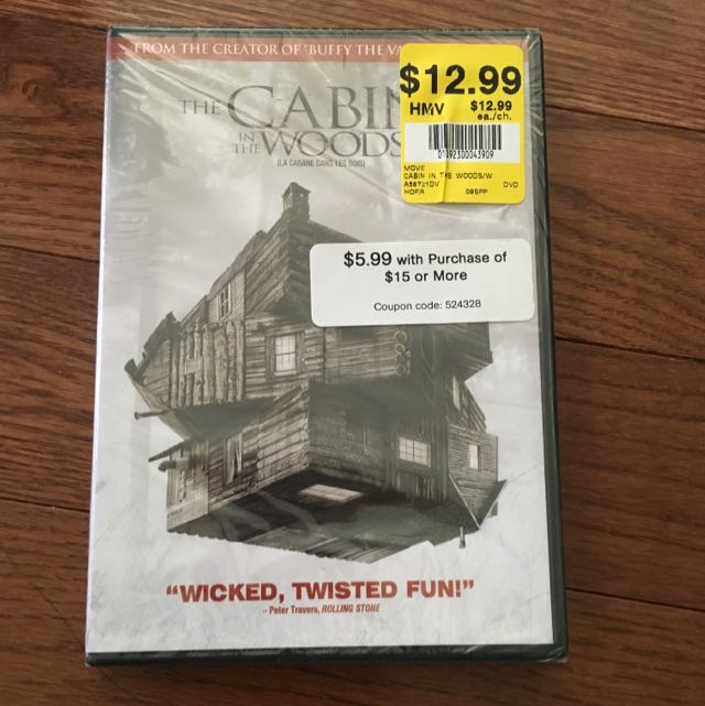 The Cabin In The Woods : BRAND NEW