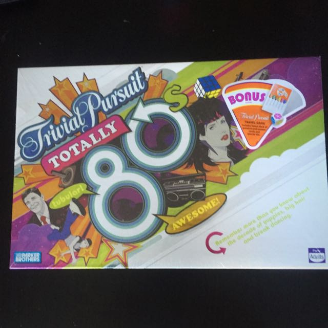 Trivial Pursuit: Totally 80's