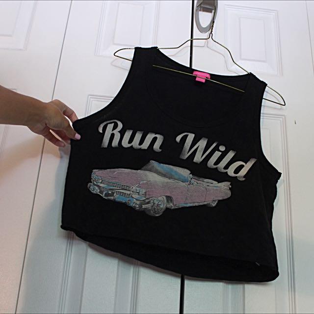 """""""Run Wild"""" Tank"""