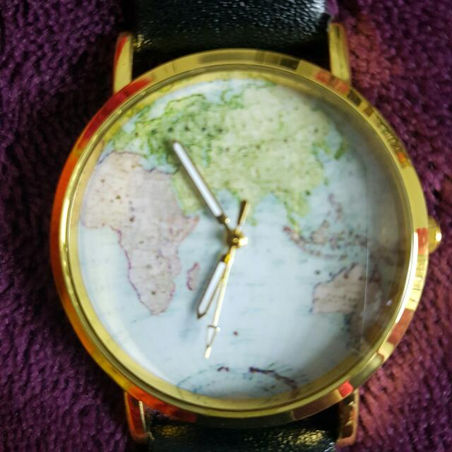 SOLD PENDING World Map Watch