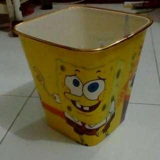 Tempat Sampah Spongebob