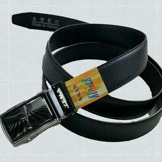可用至48腰 台灣製造 自動扣扣頭紳士腰帶 加長皮帶 超值 耐用
