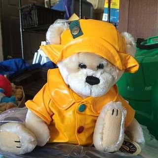 Collector's Item Brass Button Bear