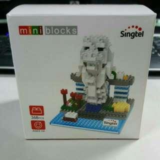 Singtel Merlion Mini Blocks