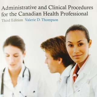 Administrative Health And Clinical Procedures 3rd Edition
