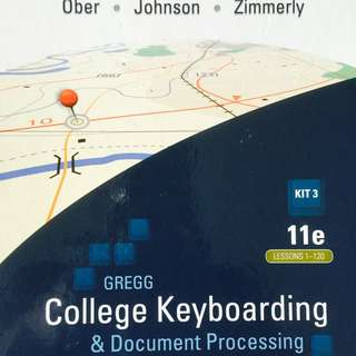 Greg College Keyboarding & Document Processing