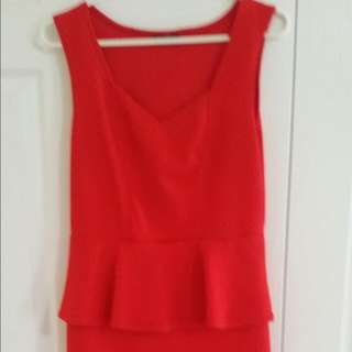 Guess Peplum Dress