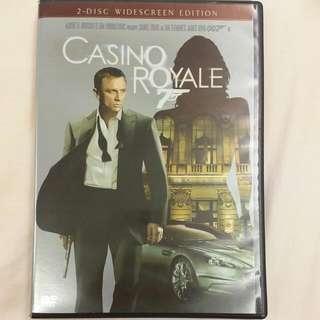 007 皇家夜總會 CASINO ROYALE DVD