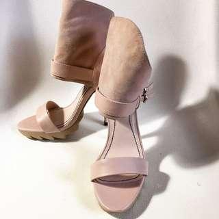 Pink Nude High heels