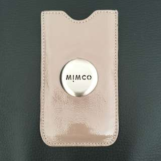 Mimco Leather Phone Pouch
