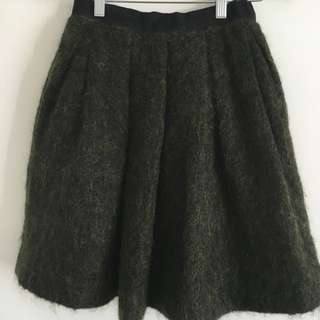 Witchery green Skirt