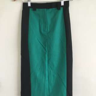 Fitted Long topshop Skirt