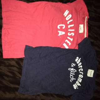 Abercrombie And Hollister T-shirt