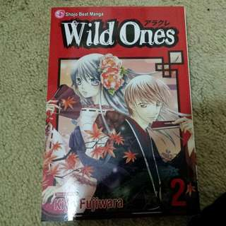 Wild Ones Vol 2 Manga