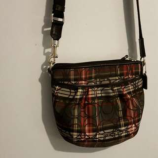 Authentic Coach Shoulder/Crossbody Bag