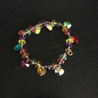 Colourful Crystal Bracelet