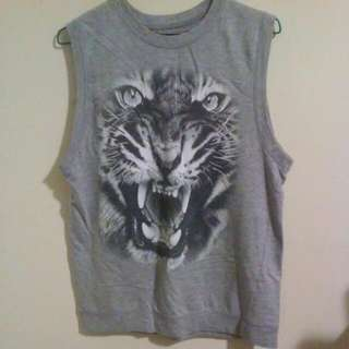 Oversized Grey Tiger Tank