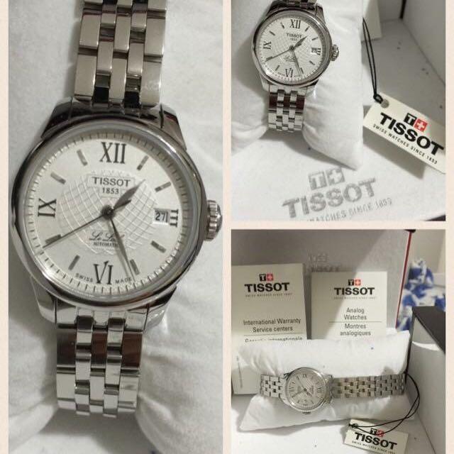 100% Authentic Tissot Automatic Ladies Watch