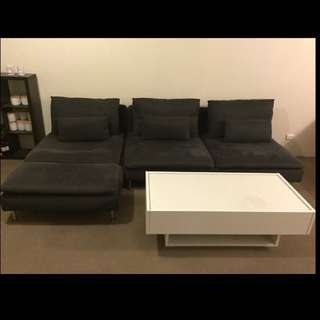 Ikea Lounge + Coffee Table