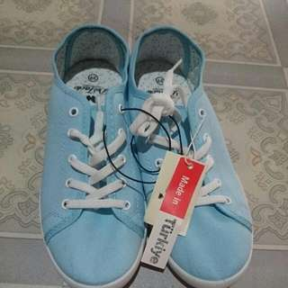 New - Blue Canvas Shoes