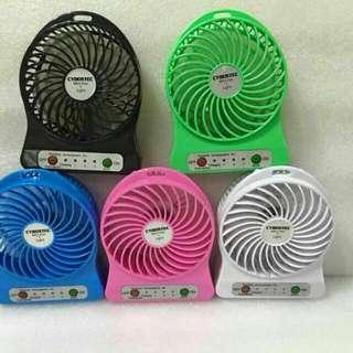 Port Usb Rechargeable Mini Fan