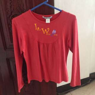 Love World Young Long Sleeves