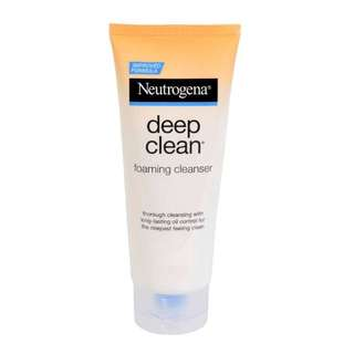 Neutrogena Deep Cleaning Foaming Cleanser (10g travel size)