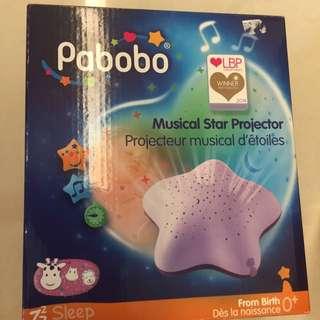 Pabobo Musical Star Projector