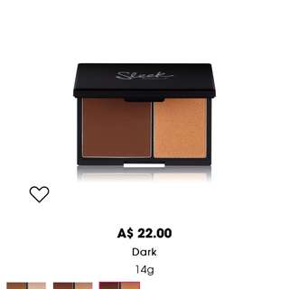 SLEEK DARK CONTOUR FACE KIT