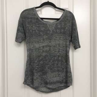 Light Wash Grey Top