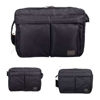 PO. OEM PORTER SLING BAG WITH TWO FRONT POCKET