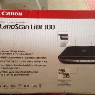 Brand new scanner