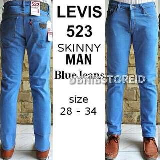 Celana Jeans Levis 523 Skinny Man