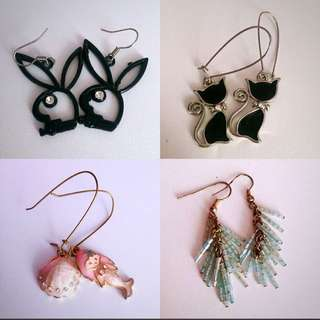 Fashion Earrings ($2/pair or 4 for $5)