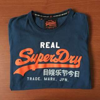 Superdry Navy Tee S