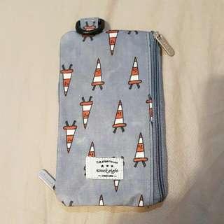 天藍小舖手機頸掛包