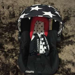 (OPEN FOR RENTAL) COSATTO Baby Hold & Car Seat