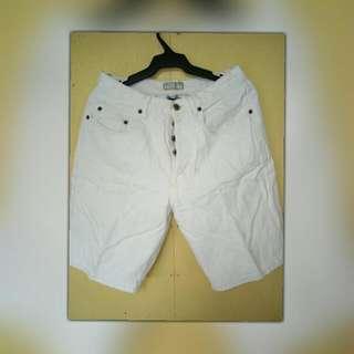 Guess Denim White Shorts