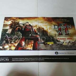 Dawn Of War 2 Poster