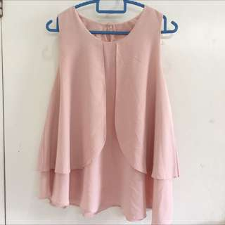 Pink Top (Soft Pink/ Nude)