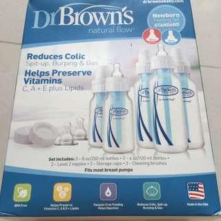 Dr Brown's Newborn Feeding Set
