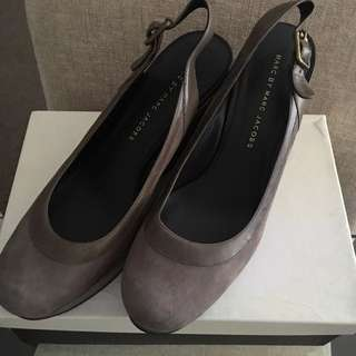 Marc Jacobs Sling Wedges Size 38.5