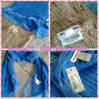 2 New Colorbox Knit Scarf 100k Free Ongkir Jabodetabek