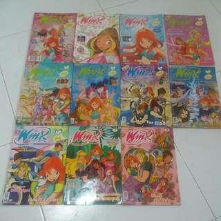 Winx Club Magazines